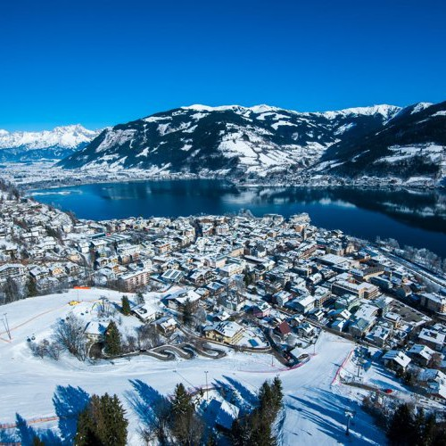 Luchfoto Zell am See winter